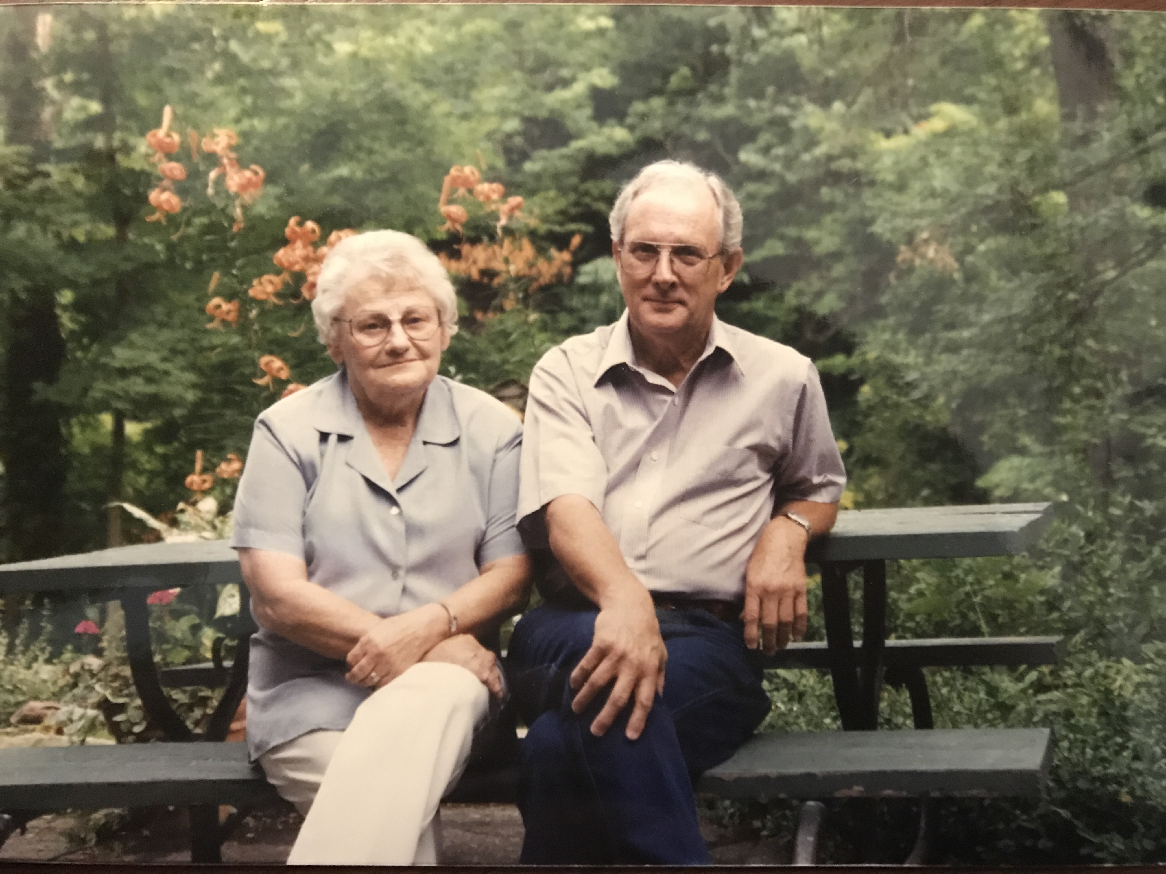 grandma and grandpa lentz